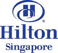Hilton Hotel SIN logo BLUE