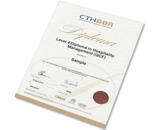 Level 4 Diploma in Hospitality Management Programme