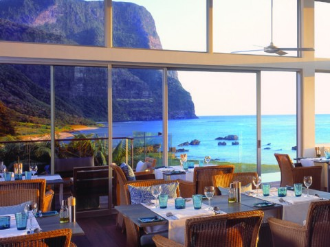The restaurant at Capella Lodge is as good as some of the best in Australia