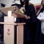 Shola Adesanya Graduation