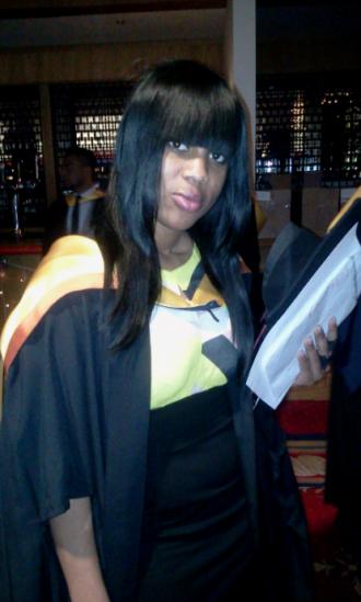 Shola Adesanya Graduation 2