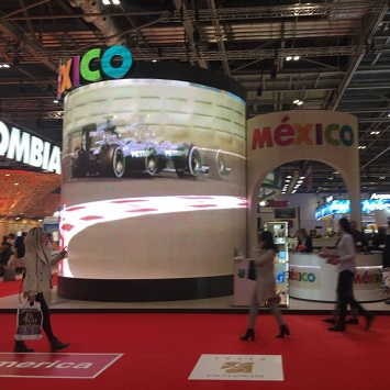 CTH at the World Travel Market (Mexico)