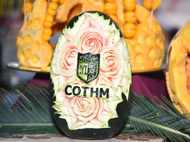 cothm-logo-carved-into-fruit-culinary-skills-showcasing-day